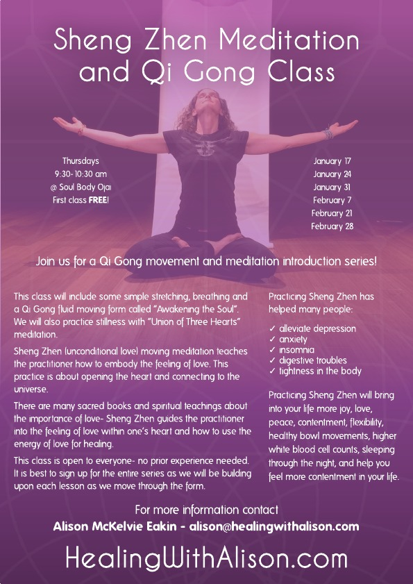 Meditation and Qi Gong Class Series